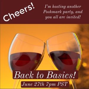 Other - New Listing! Only 1 week until Back to Basics!